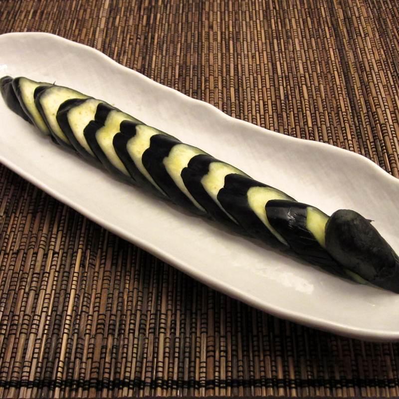 画像1: 菜香や■昔ながらの伝統の素朴な味「なす田舎漬け」 (1)