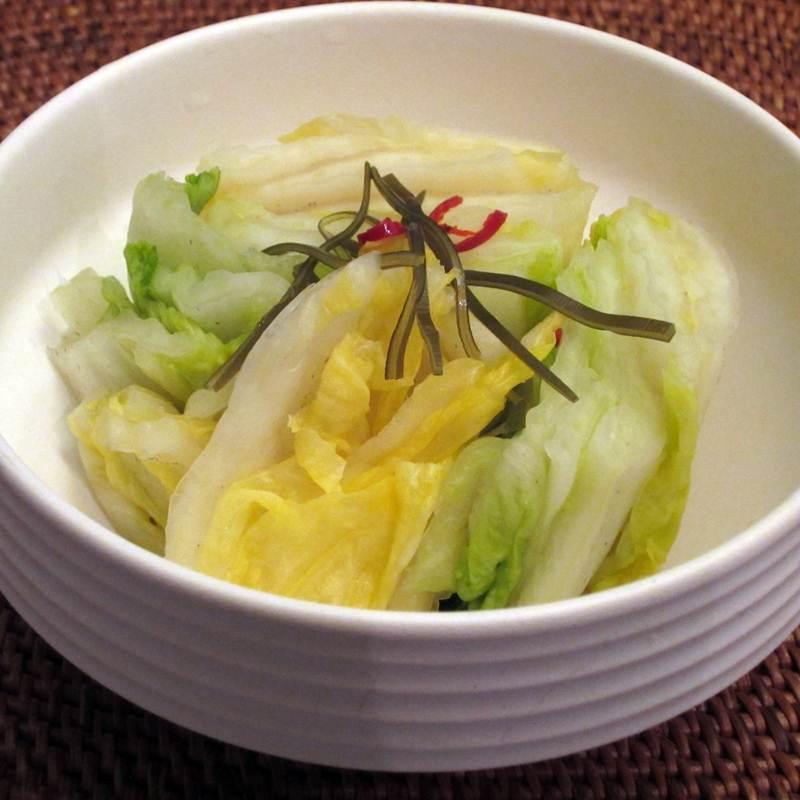 画像1: 菜香や■漬物の王様!昆布と白菜の旨味ぎっしり「昆布白菜漬け」 (1)