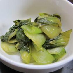 画像1: 菜香や■ピリッとした辛味がくせになる!【チンゲン菜ラー油漬け】 (1)